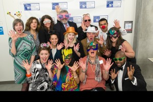 Our board of directors celebrating.